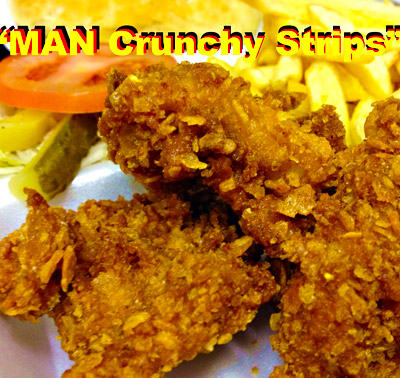 MAN Crunchy Strips
